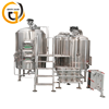 Nano Brewery Brewpub Beer Making Machine 500L Brewing Beer Equipment