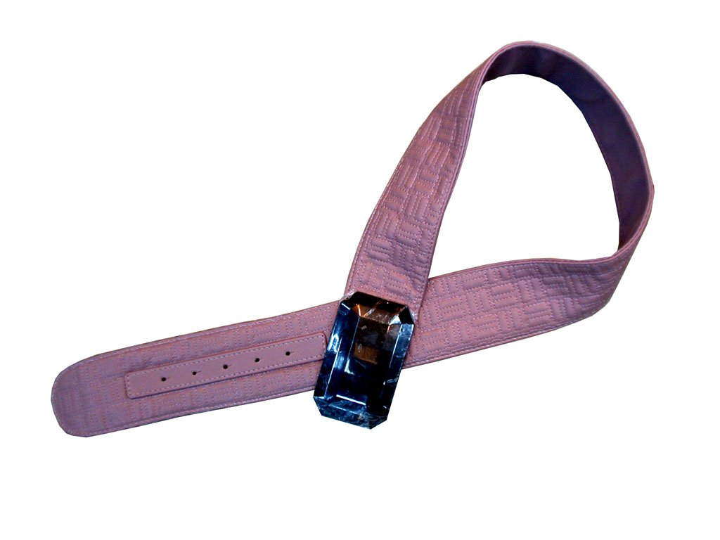 Threaded Monogram Belt