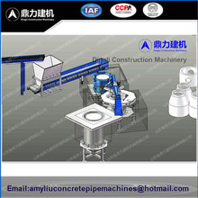 Prestressed Bell Mouth Concrete Pipe Machine / Manhole Cover Machine