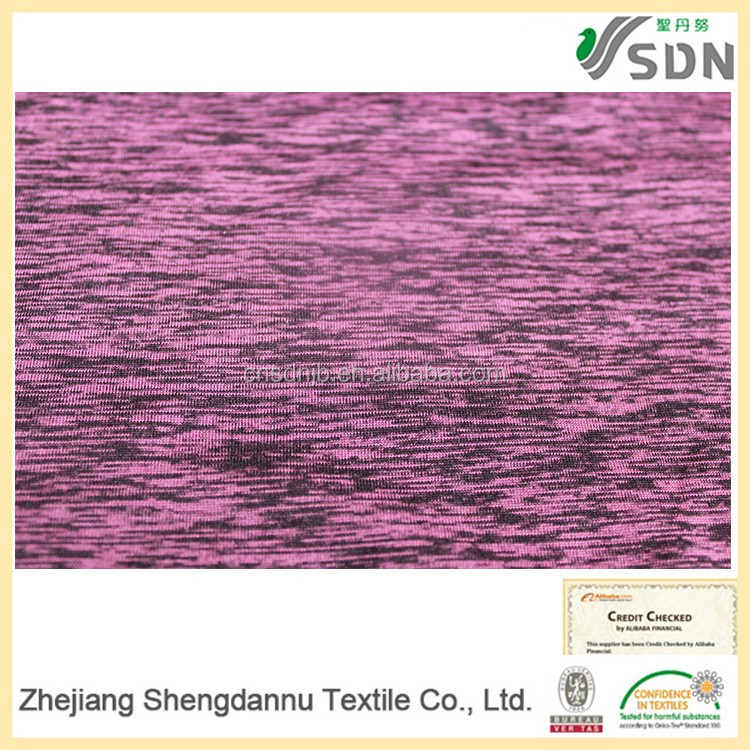 2016 Factory direct custom high quality Elastane Space Dyed denim cotton spandex printed fabric