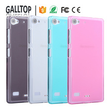 Cheap Colorful Case Soft Rubber Pudding Gel Clear TPU Silicone Phone Cover Skin Case For Lenovo