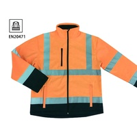 Men reflective clothing safety workwear