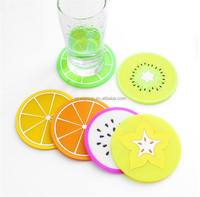 Creative Fruit Design Coffee Placemat Cartoon Drink Coaster Cup Glass Beverage Holder Pad Mat
