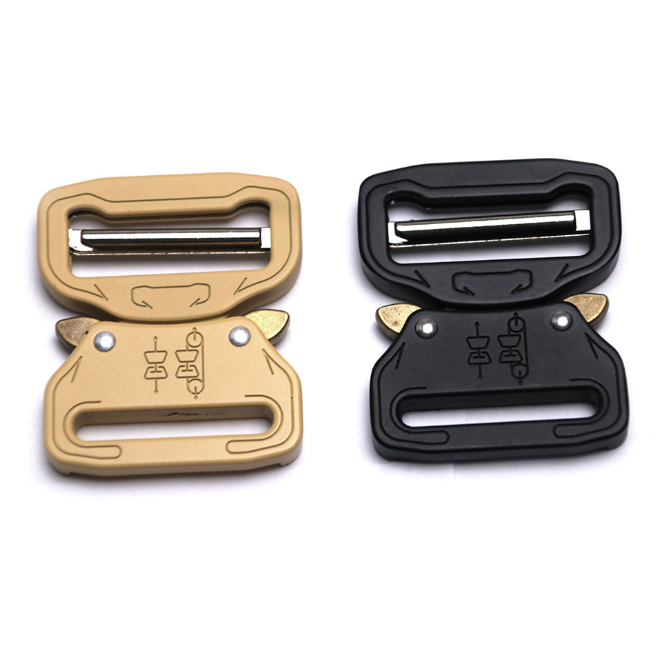 38mm Men's Tactical Military Style Quick Release Metal <strong>Buckle</strong> with Different Colors
