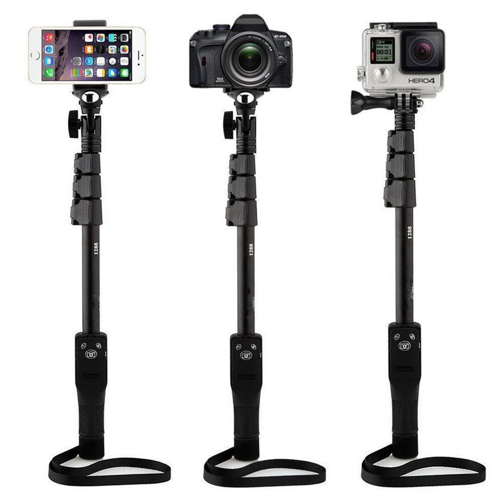 Hot sell Digital Camera Phone Yunteng 1288 Selfie Stick Monopod for Camera mobile phone