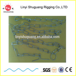 DIN 5686 Hot Dipped Galvanized Knotted Chain dog chain