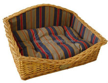 wicker basket for pet water hyacinth basket palm leaf basket