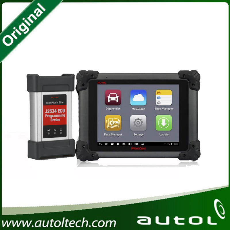 AUTEL MaxiSys Elite Support J2534 ECU Preprogramming Update From MS908P MS908 PRO