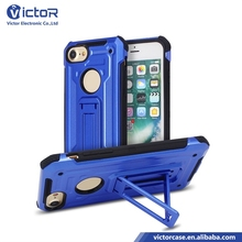 Online market cool style kickstand shockproof cell phone case for iPhone 7