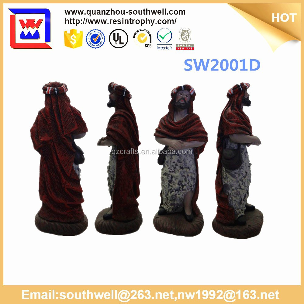 cheap religious craft and resin jesus figurines for sale