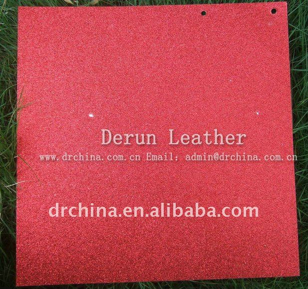 "2011 HOT Selling DERUN 12*12"" glitter paper for crafts"
