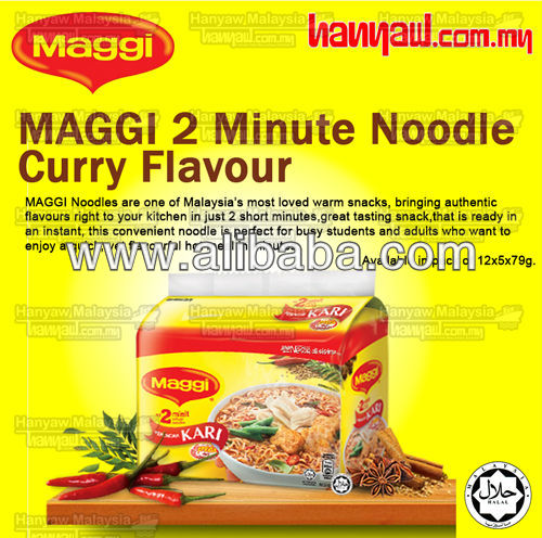 Maggi Noodles Curry Flavor