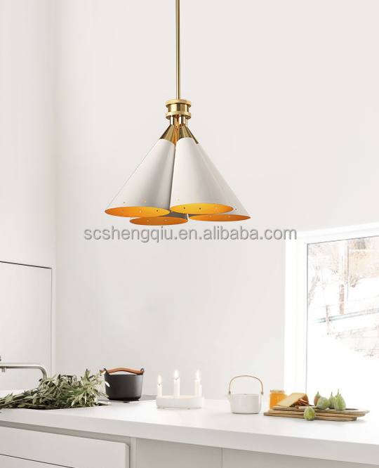 Postmodern creative personality bouquet droplight Scandinavian ikea simple living room bar chandelier