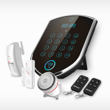 Built in Siren Mobile APP Remote Unlocking Access Control 3G Wireless GSM Alarm Yard Security System Smart Security Alarm