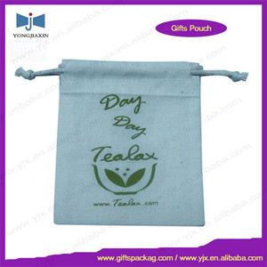 Wholesale Custom Cheap Plain Drawstring cotton bags no minimum