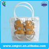 transparent shoe carrier bag tote pvc bag for baby
