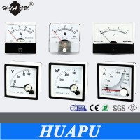 Hot sale! best quality Analog only display panel meter AC DC Ammeter voltmeter KW HZ power Meter 96*96/72*72