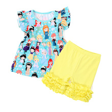 2018 new children's clothing factory latest design baby outfit sweat kids suit
