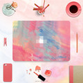 Wholesale Decorative Rainbow Oil Painting style Full Body PVC Vinyl Sticker for Apple Macbook Pro Air Retina Pro Air