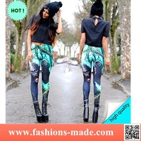 King Kong Print leggings