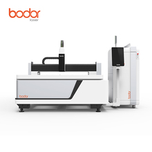Bodor 20mm carbon steel cnc fiber laser metal cutting machine price with high power