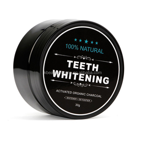 Best selling Nature charcoal teeth whitening powder organic custom private label available