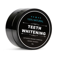 Hot sale charcoal teeth whitening powder and Activated whitening teeth charcoal teeth whitening kits private logo label