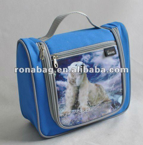 Mini sublimation kids lunch cooler school bags