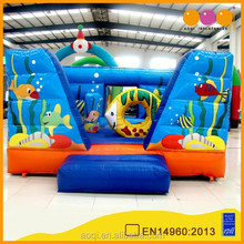 2016 commercial used frozen inflatable bouncer ocean park inflatable jumping kids bouncer for sale