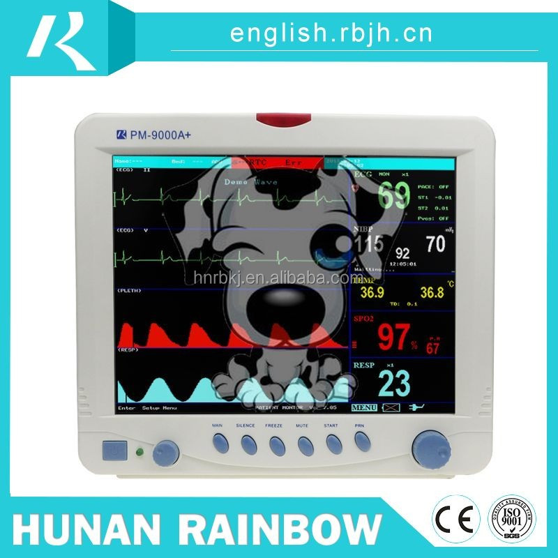Multi parameter best-selling 12.1inch vet patient monitor