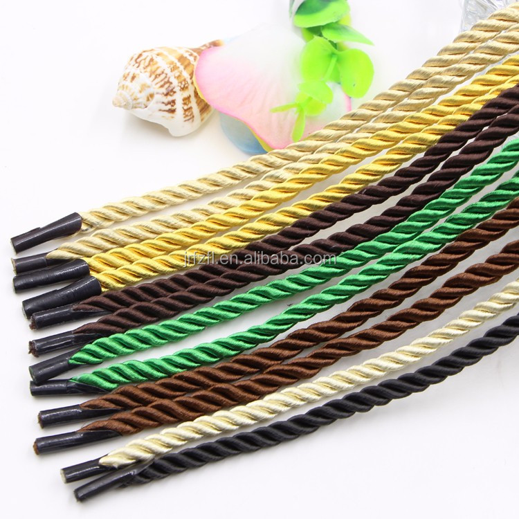 Different kinds of paper bag handle rope for bag