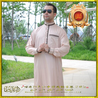 Best Price Top Quality New Model Arab Men White Thobe Designs Islamic Clothing Men's Abaya Men Thobe