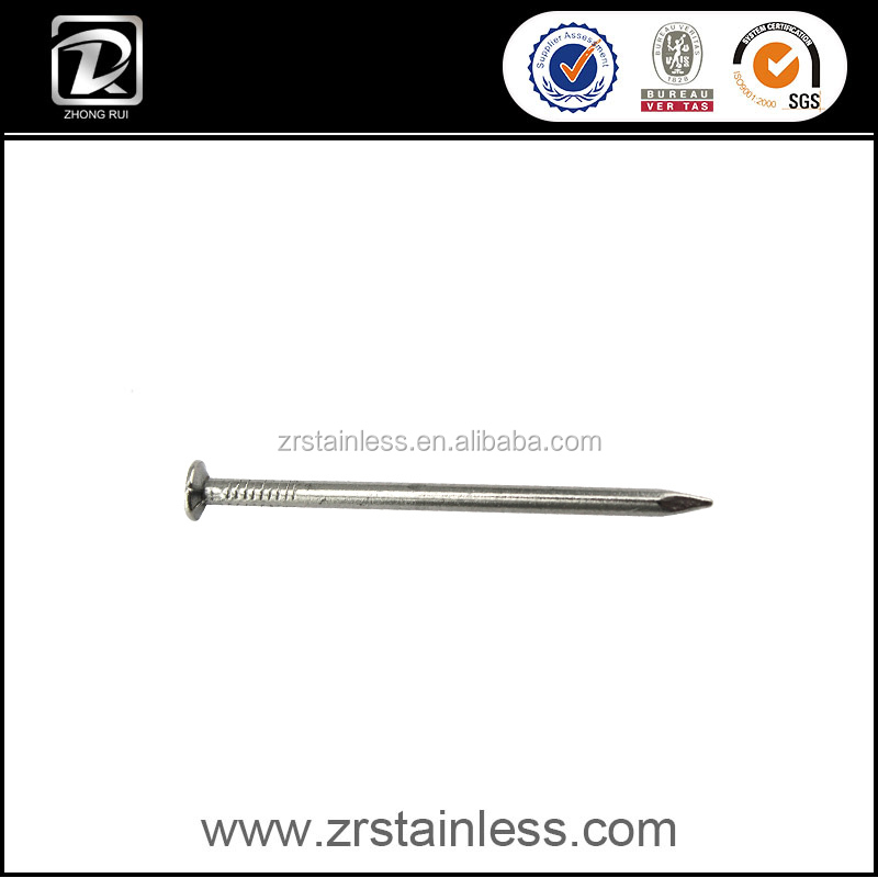DIN18182 Stainless Steel bright round common nail