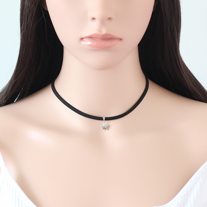 2017 new arrival hot sale accessories for women necklace black neck choker