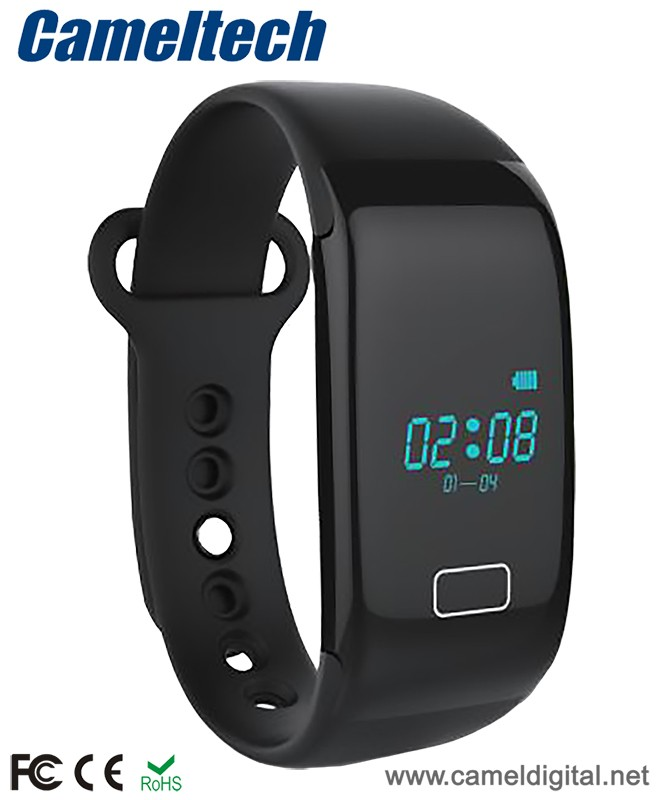 Popular bluetooth heart rate transmitter,bluetooth heart rate wristband factory,waterproof strapless wristband heartrate monitor