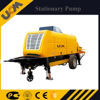 UCM mini trailer beton pump 40m3/h concrete output with competitive price
