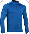 Men's Technical performance 1/4 Zip training top fitness gym quarter zipper pullover shirts wholesale with best quality