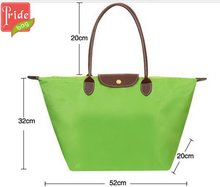 Promotional Nylon foldable shopping bag Reusable Tote Bags Wholesale