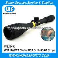 BSA SWEET 3-12x40AO Optical Tactical Hunting Riflescope