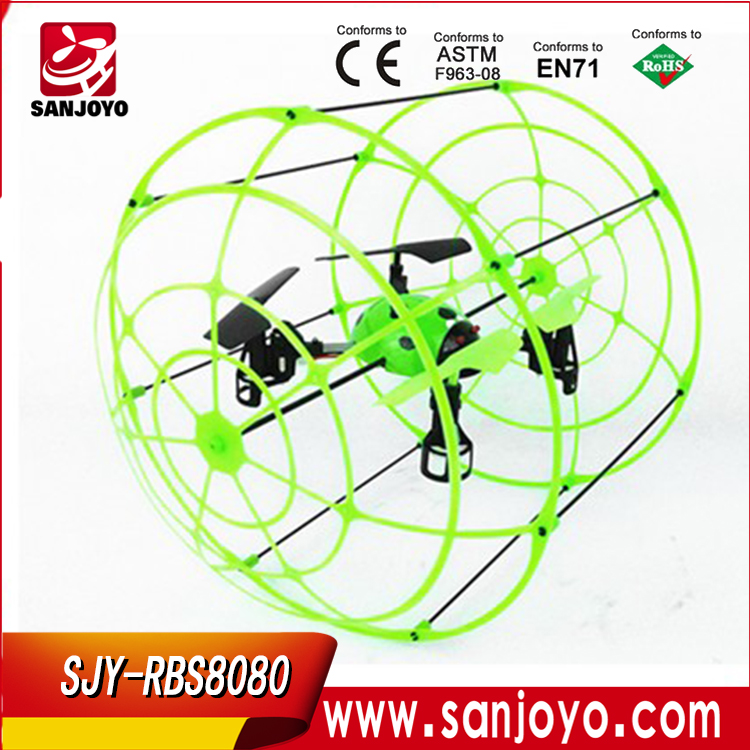 SJY-RBS8080 rc quadcopter kit 4-AXIS 2.4G Remote Control Sky Walker aircraft ladybug mini drones rc quadcopter