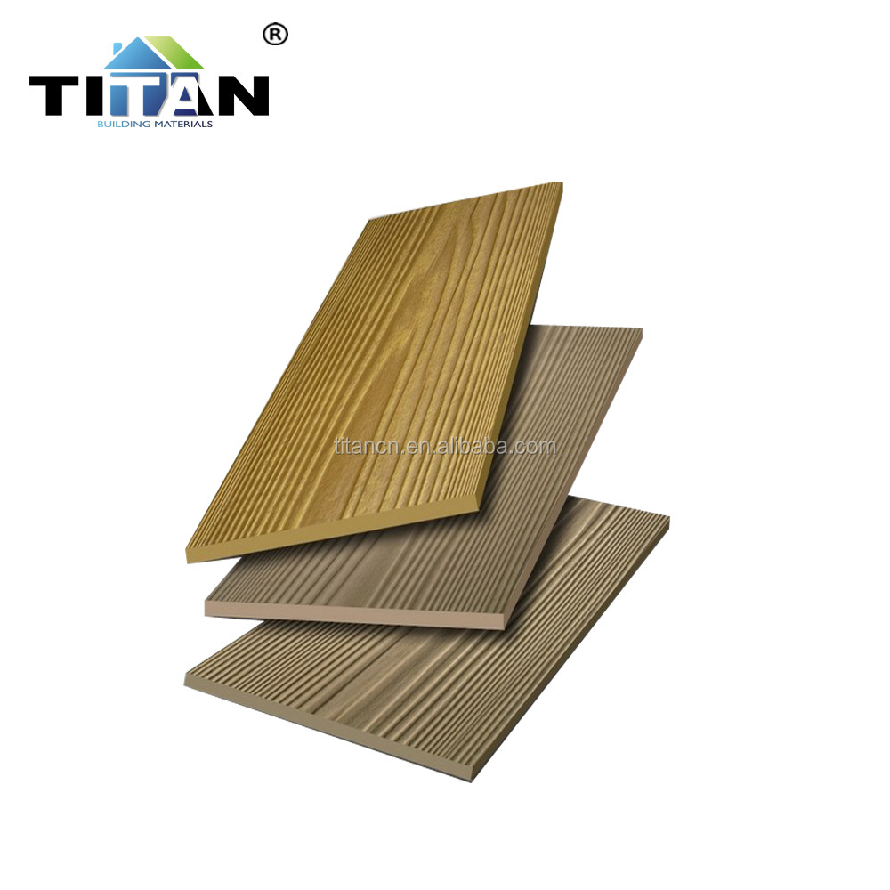 Wooden Waterproof Exterior Fiber Cement Siding wholesale