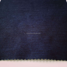 Custom knitted polar fleece bonded denim jeans fabric