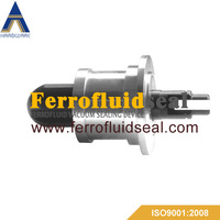 Ferrofluid flange feedthrough for SF6 vacuum switch,Electrical HV Switch Feedthrough