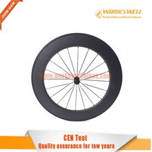 700C carbon road bike wheels road carbon 88mm clincher high end carbon wheels