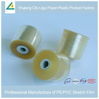 Clear PVC Stretch Wrapping Plastic Film