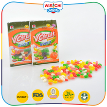 Custom Flavors Halal Jelly Candy Sweets Assorted Fruit Flavored Mini Bean