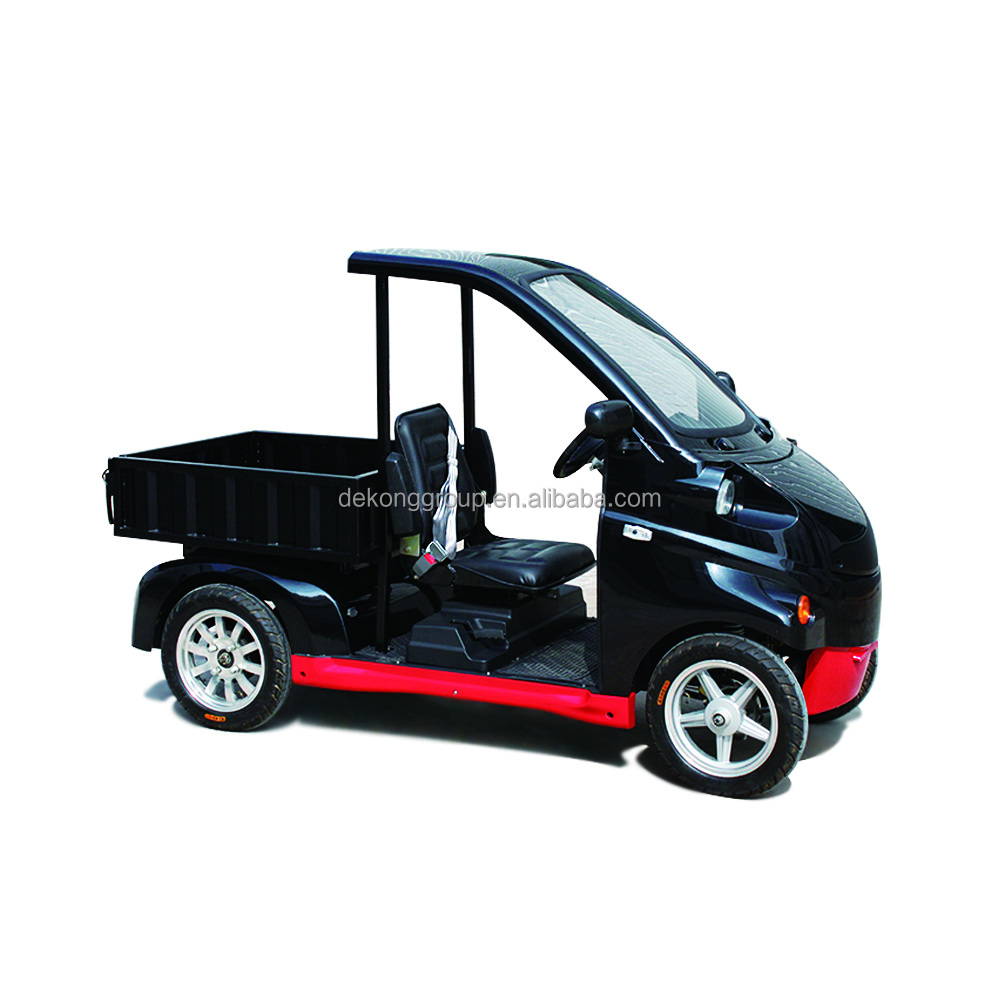 Dekong loading cargo 4 wheel electric van