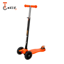 Factory Price Pink/Green/Blue/Orange kick board street toy scooter kids