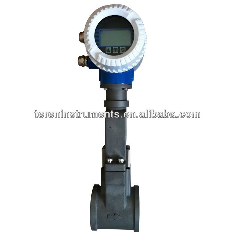 ultrasonic Air gas liquid oil Vortex flow meter flowmeter for steam factory supplier dealer manufacturer Dalian China