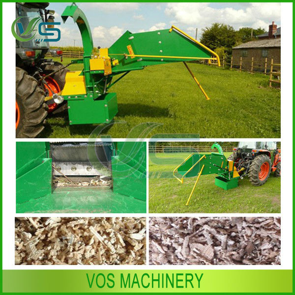 pto powered wood chipper forestry machinery professional manufacturer